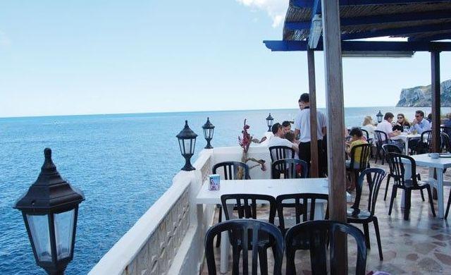La mejor terraza del Mediterráneo.