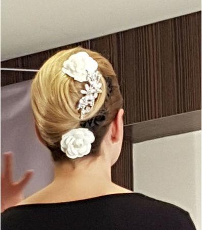 Peinados y recogidos para ceremonias