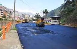 Asfaltado de carreteras