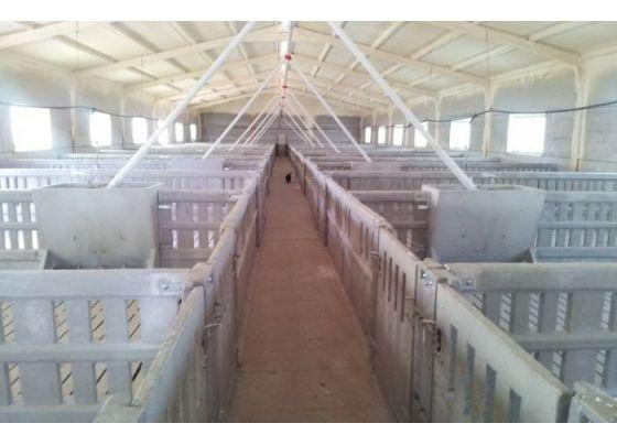 Prefabricados de hormigón para granja