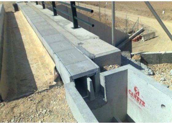 Prefabricados de hormigón para obras públicas