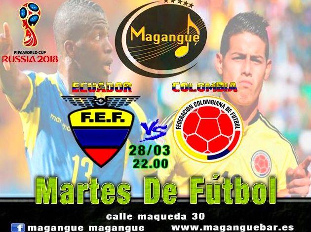 Eliminatorias RUSIA 2018... ECUADOR vs COLOMBIA