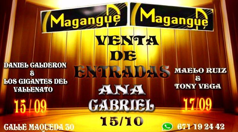 VENTA DE ENTRADAS : Sala y actuaciones de Magangue