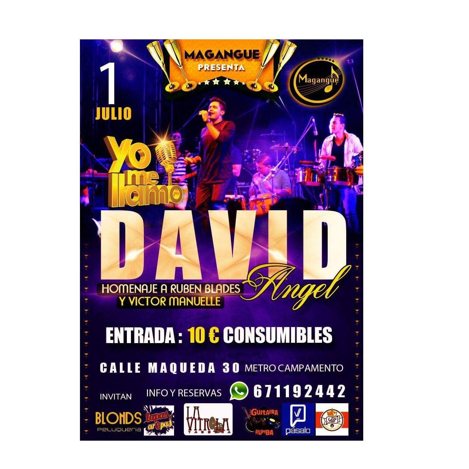 Música latina y crossover: Sala y actuaciones de Magangue