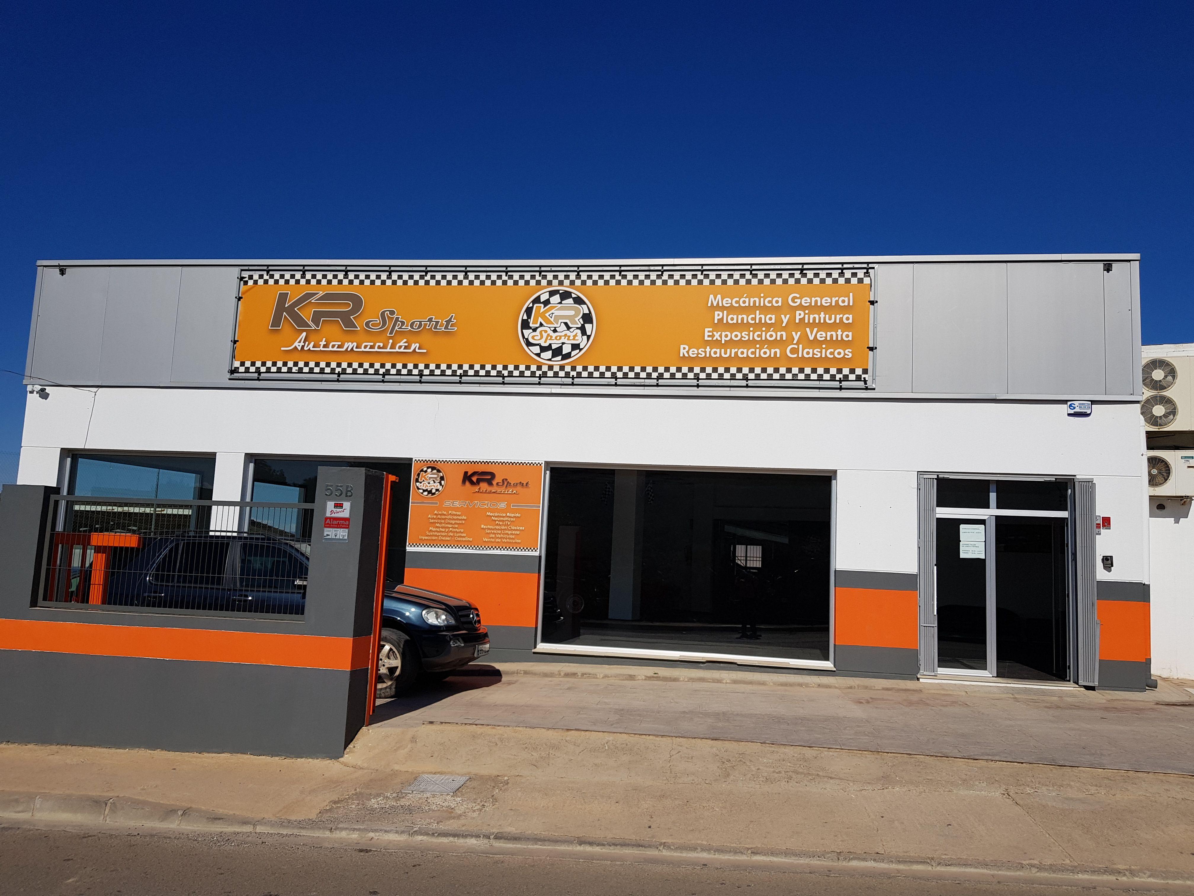 Foto 30 de Talleres de chapa y pintura en    KR Sport Automoción