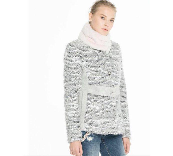 Abrigo Fracomina en gris