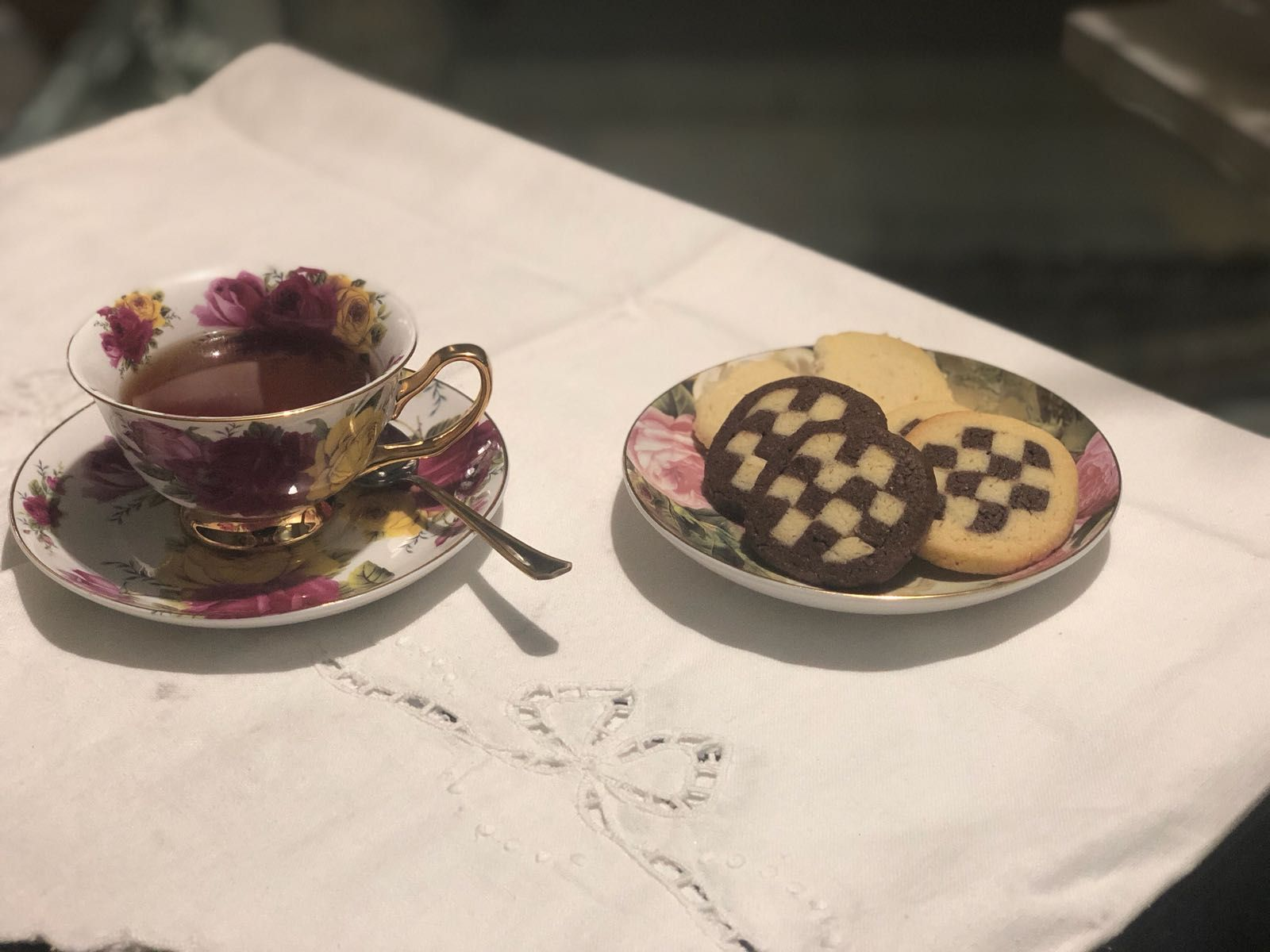 Pastas de té en Marbella