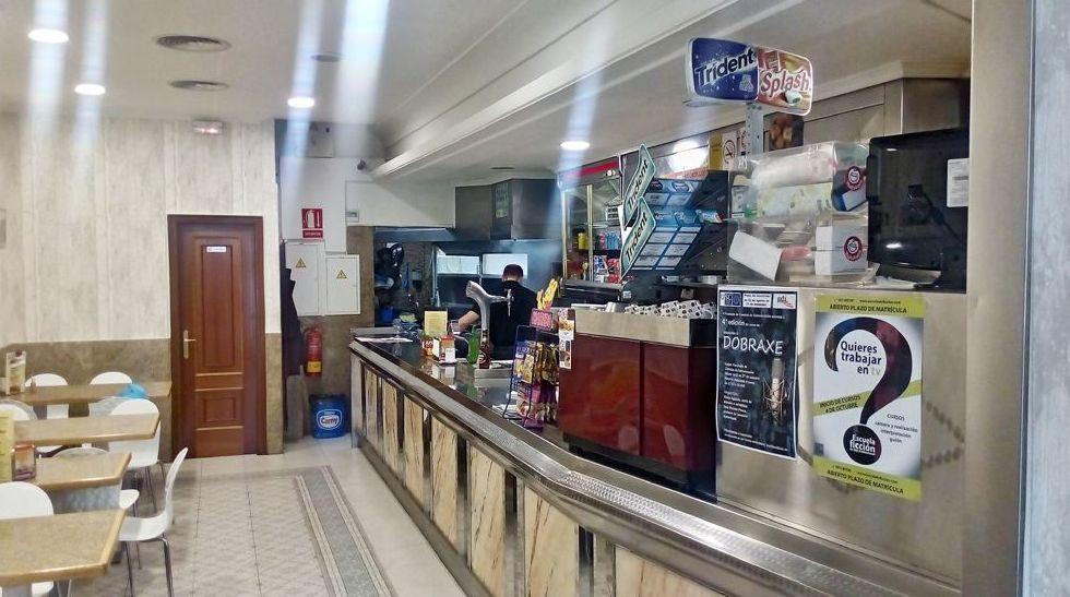 Bar restaurante en Santiago de Compostela