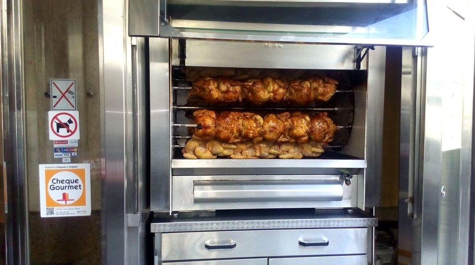 Pollos asados en Santiago de Compostela