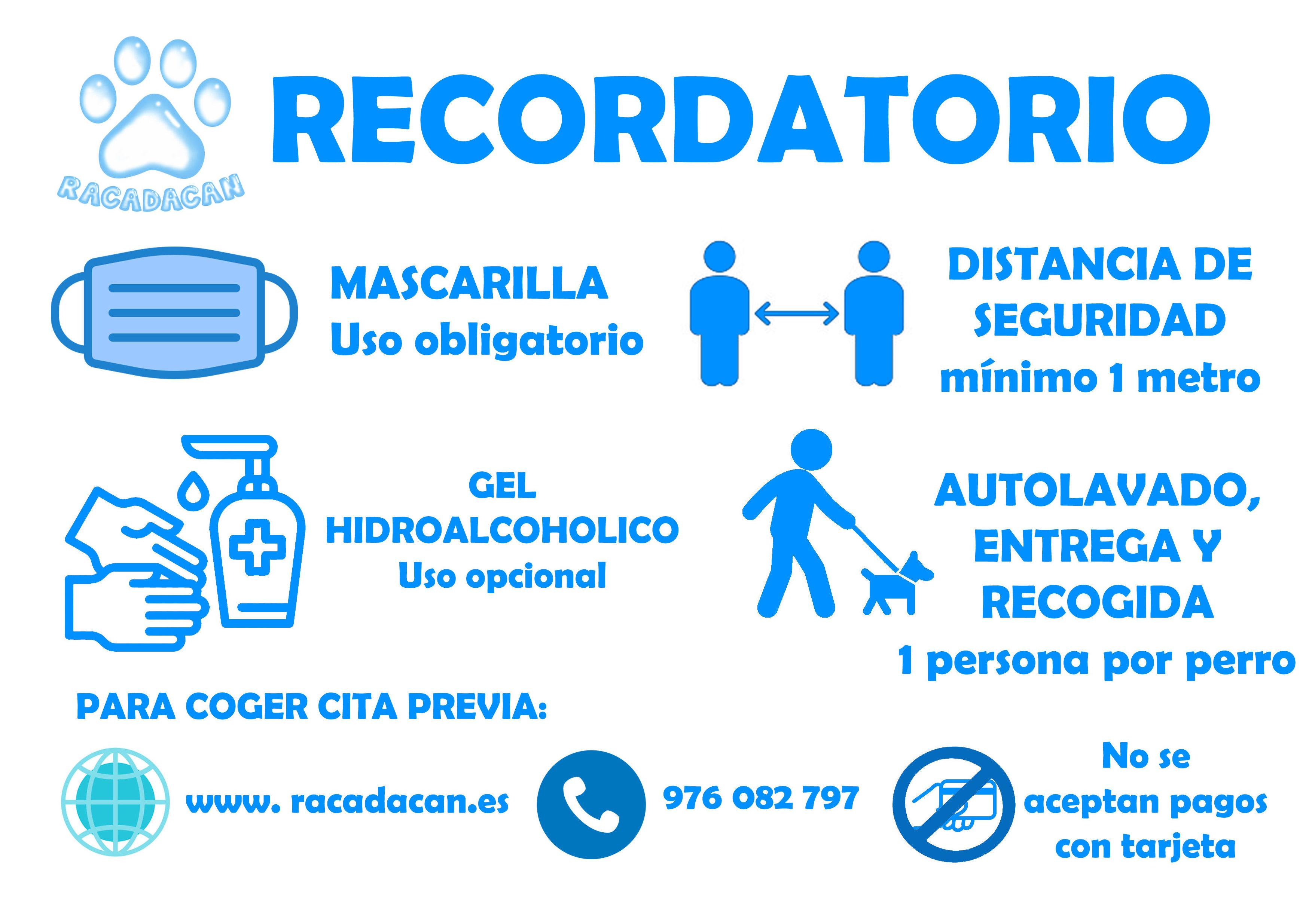 RECORDATORIO PARA CLIENTES