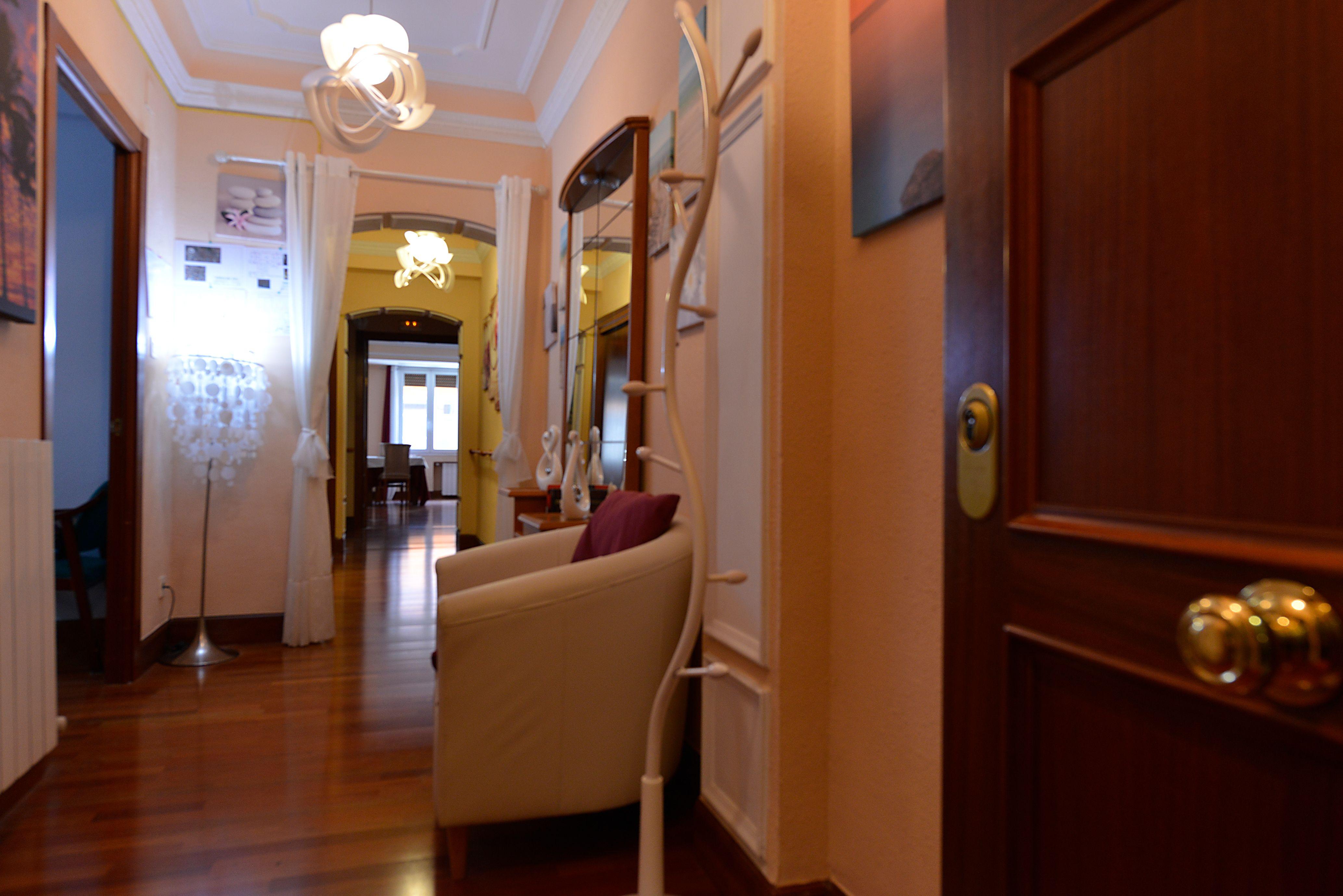 Residencia Garai situada en el corazón de Bilbao