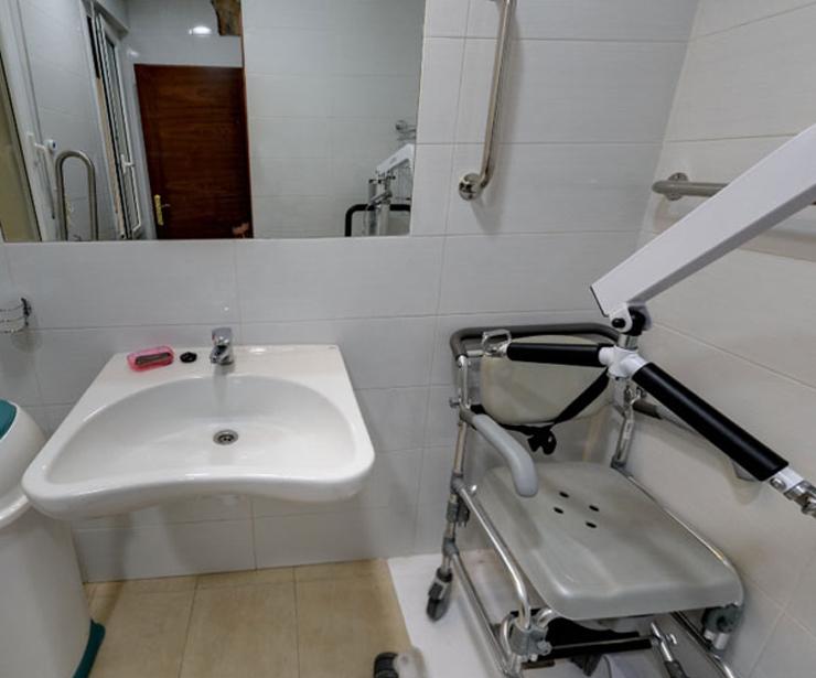 Instalaciones adaptadas, Residencia El Urquijo