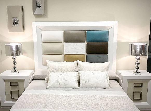 Dormitorios de matrimonio: Muebles y decoración de Capitoné Mobles