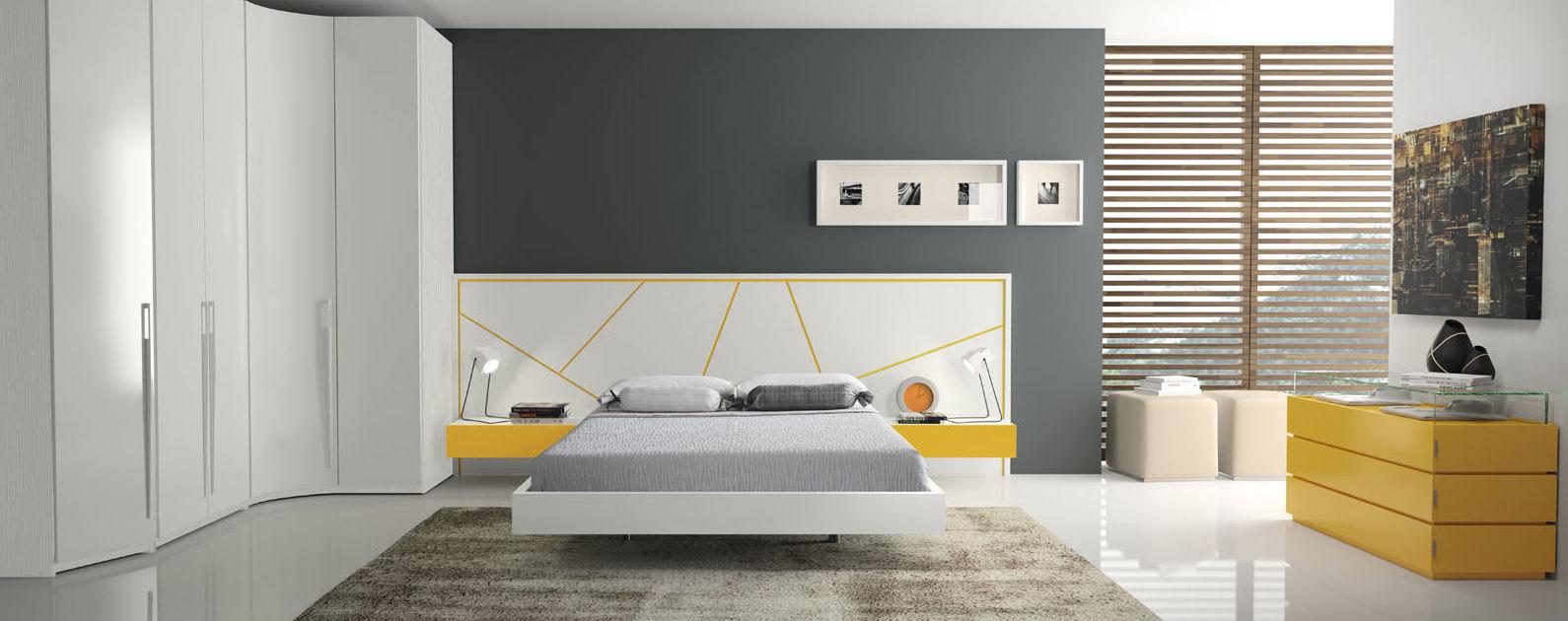Dormitorios matrimonio modermos: Muebles y decoración de Capitoné Mobles