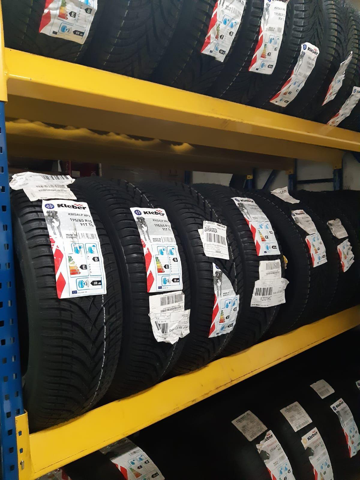 Cambio de neumáticos en Zaragoza