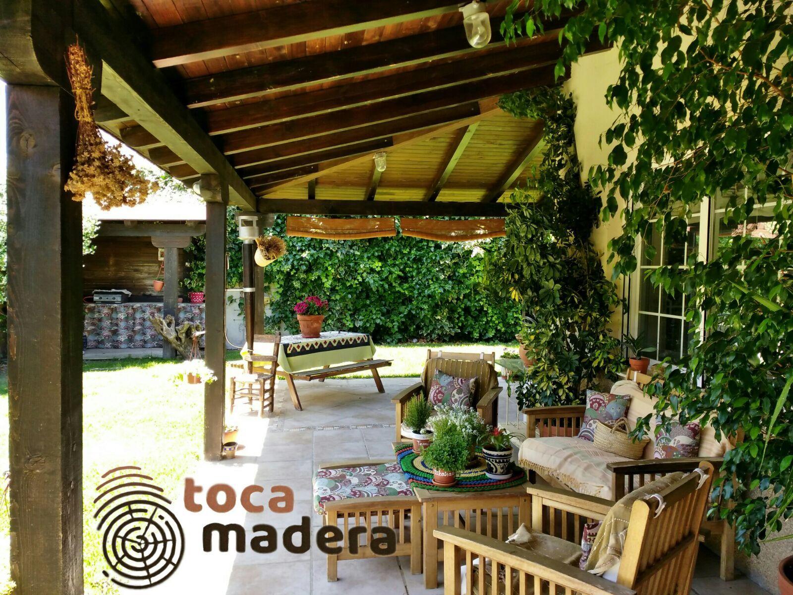 Porche de madera Murcia