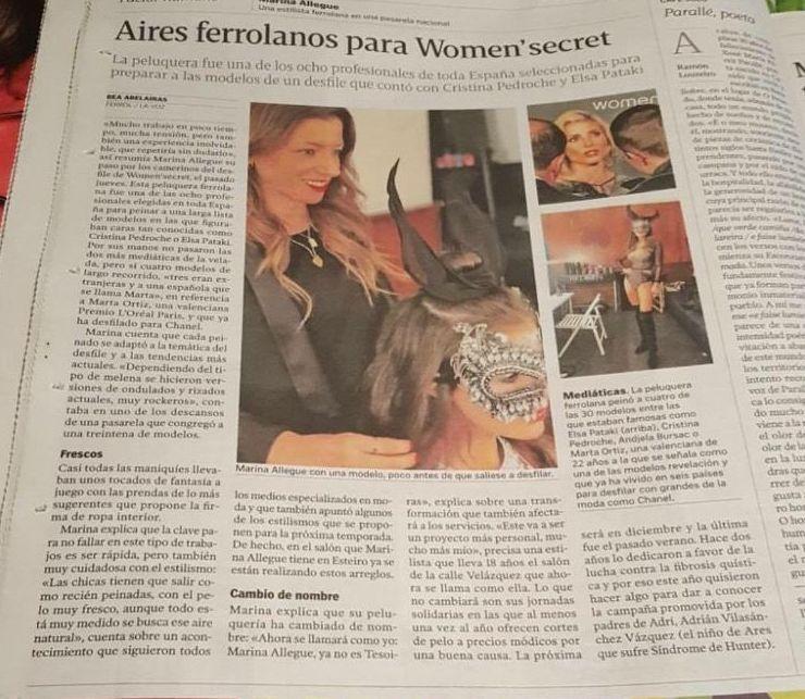 Foto 23 de Salón de belleza en Ferrol | Salón Marina Allegue