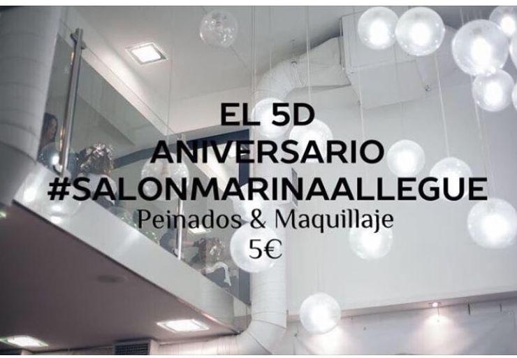 18 Aniversario Salon  Marina Allegue