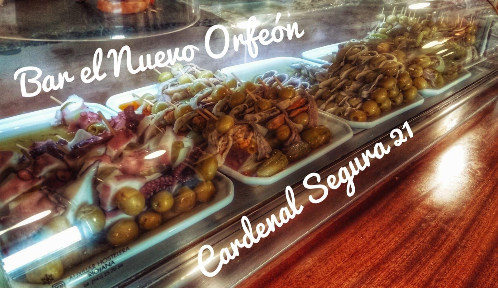 Pinchos de encurtidos en Burgos