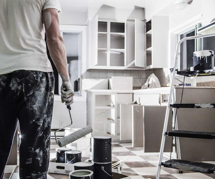 Trabajos de pintura y decoración de interiores en Madrid