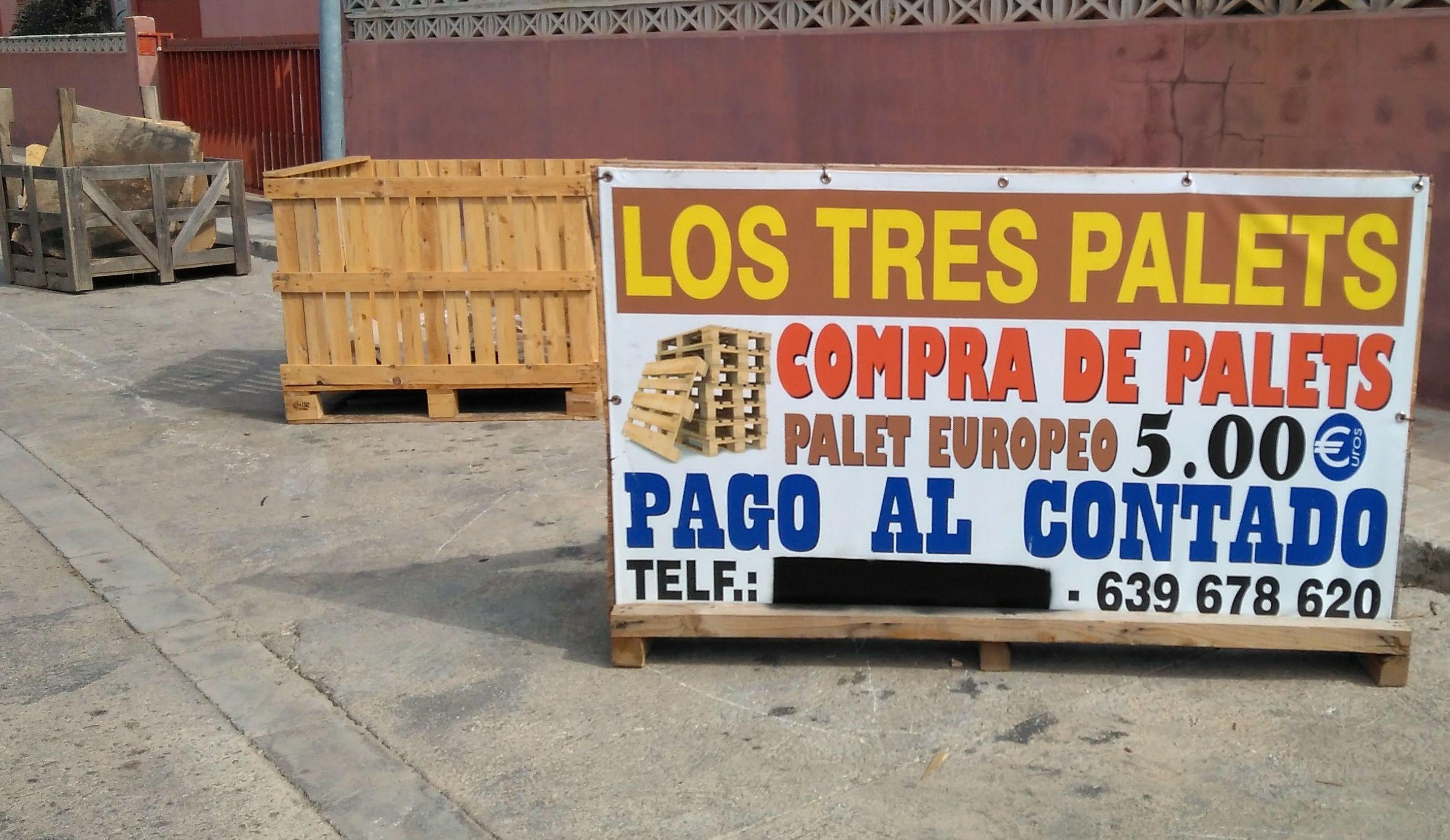 compra de palets en valencia