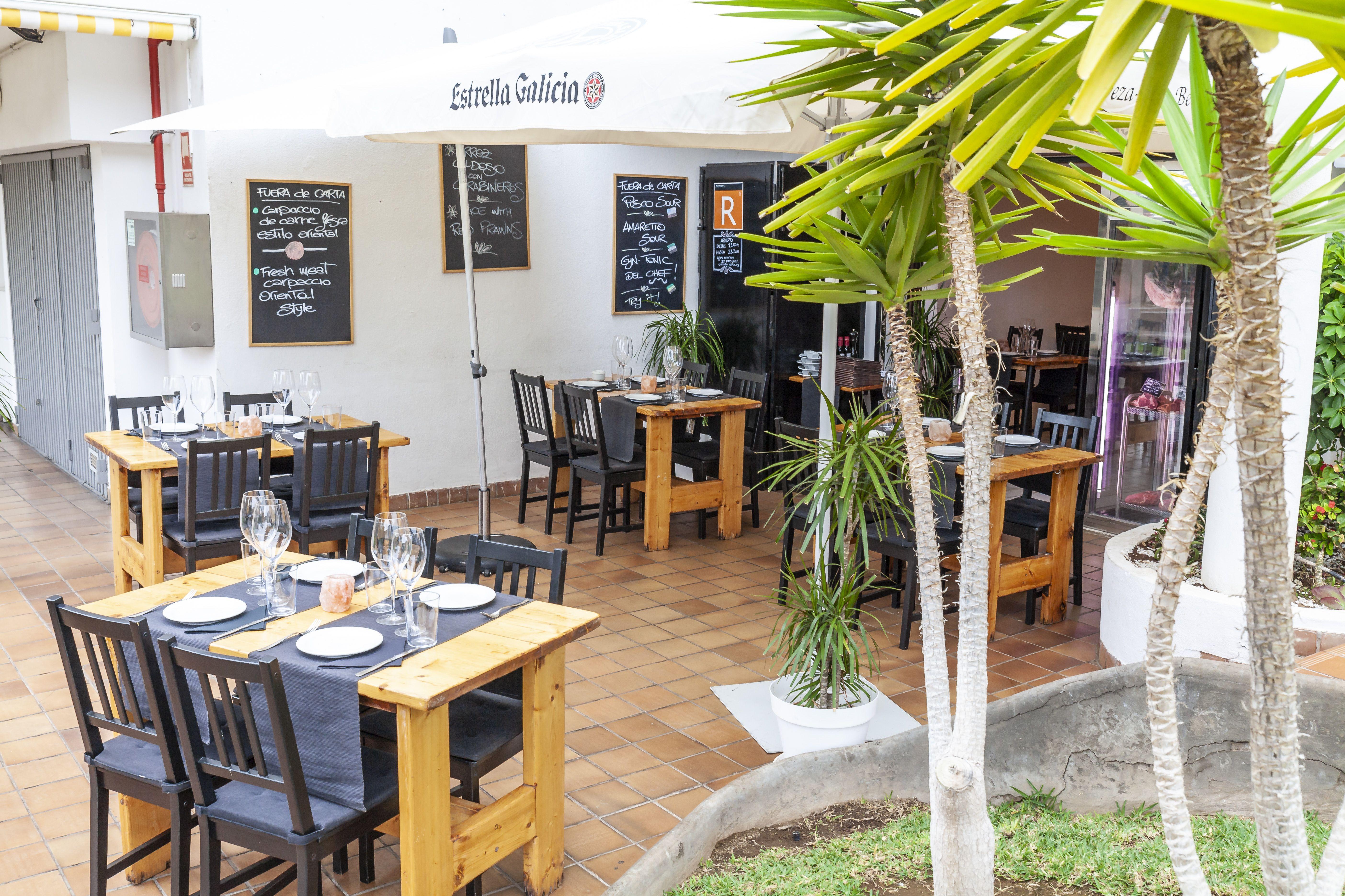 Cocina del autor en Santa Cruz de Tenerife