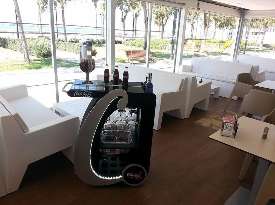 Interior de nuestro restaurante en Almería