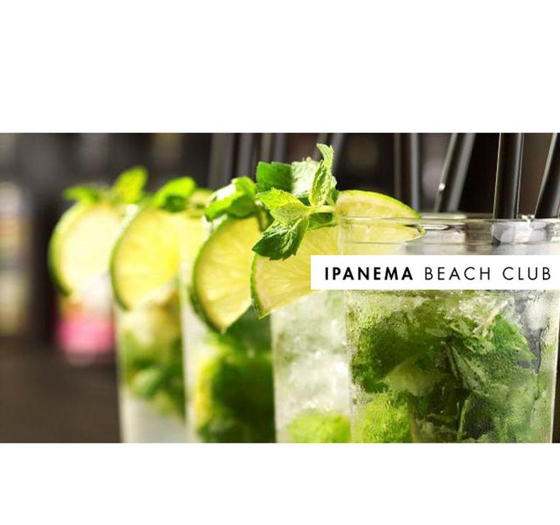Disfruta en Ipanema Beach Club