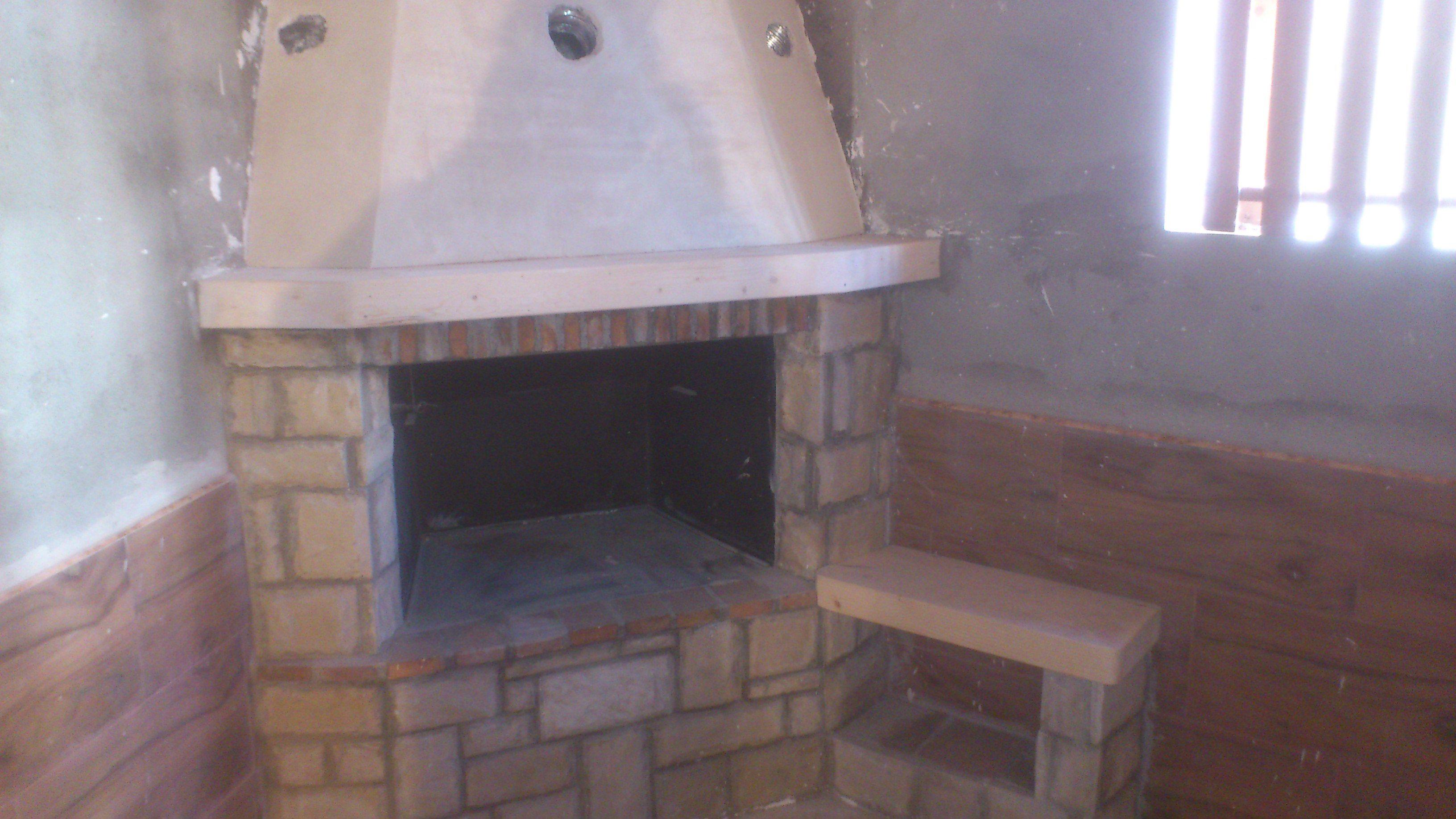 Revestimiento de frente de chimenea