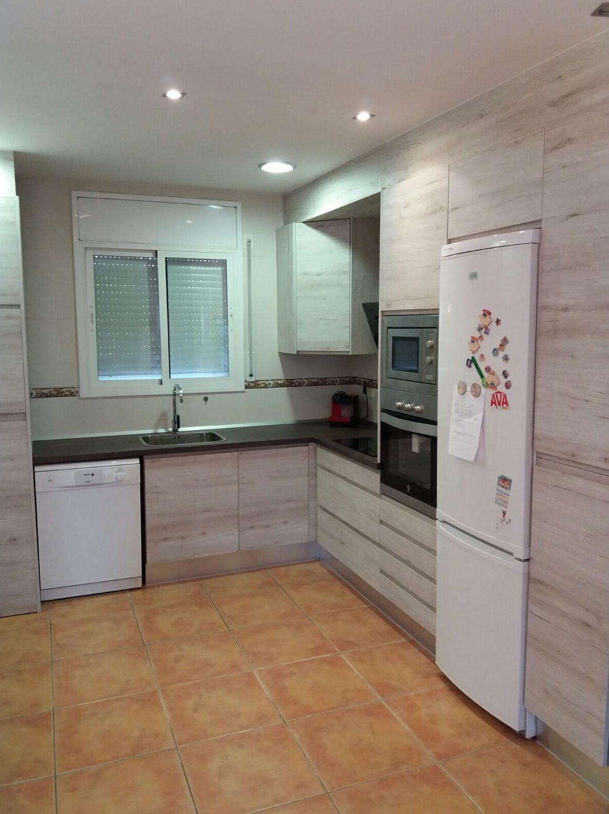 Muebles de cocina a media en Huesca