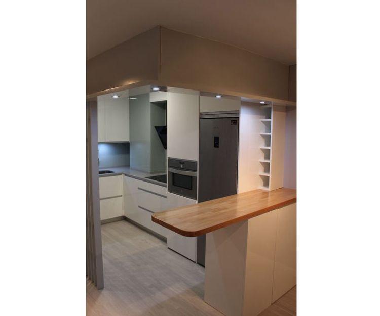 Nos adaptamos a cualquier espacio en muebles de cocina