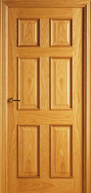 Puerta madera modelo 6000 en Toledo