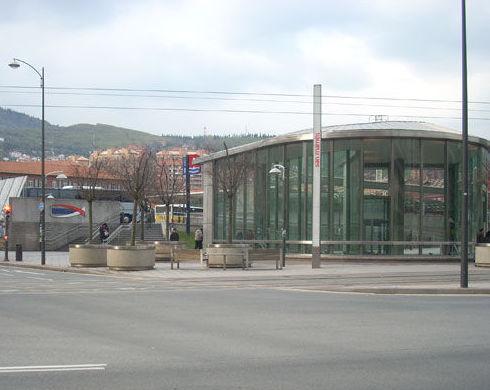 Hotel junto estación de autobuses en Bilbao