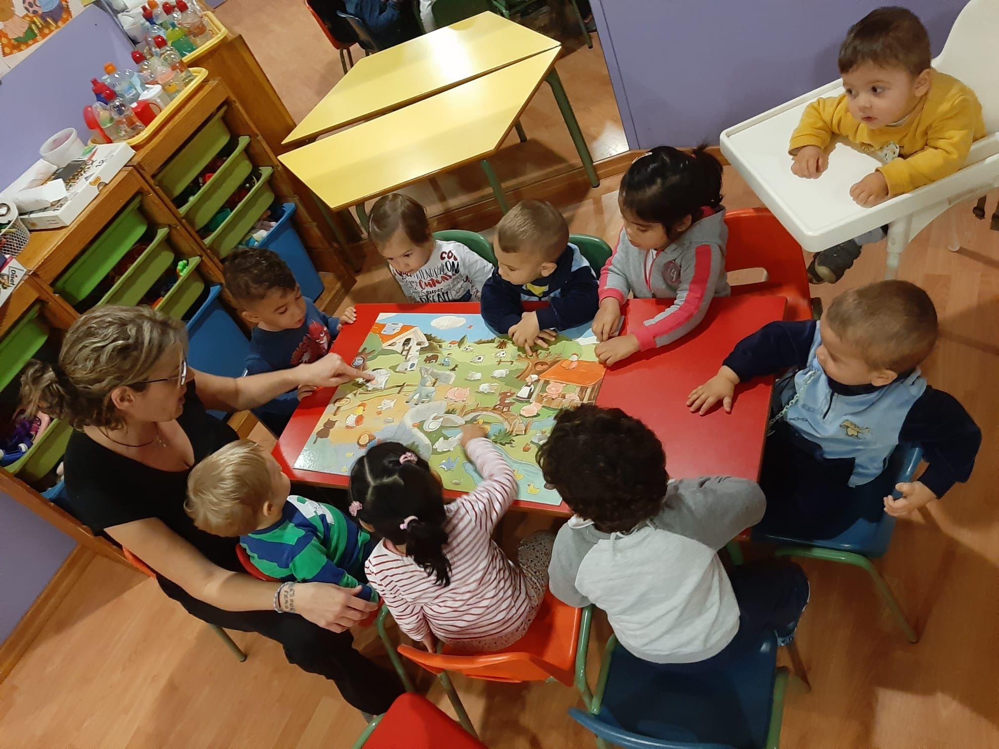 escuela infantil en Girona