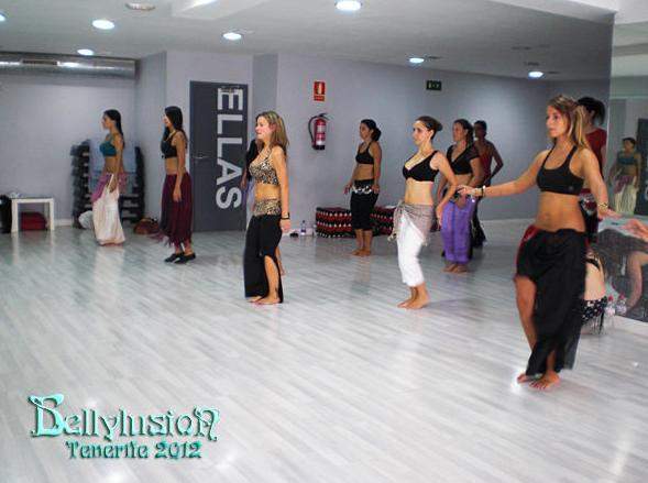 Clases de danza del vientre en San Cristóbal de la Laguna