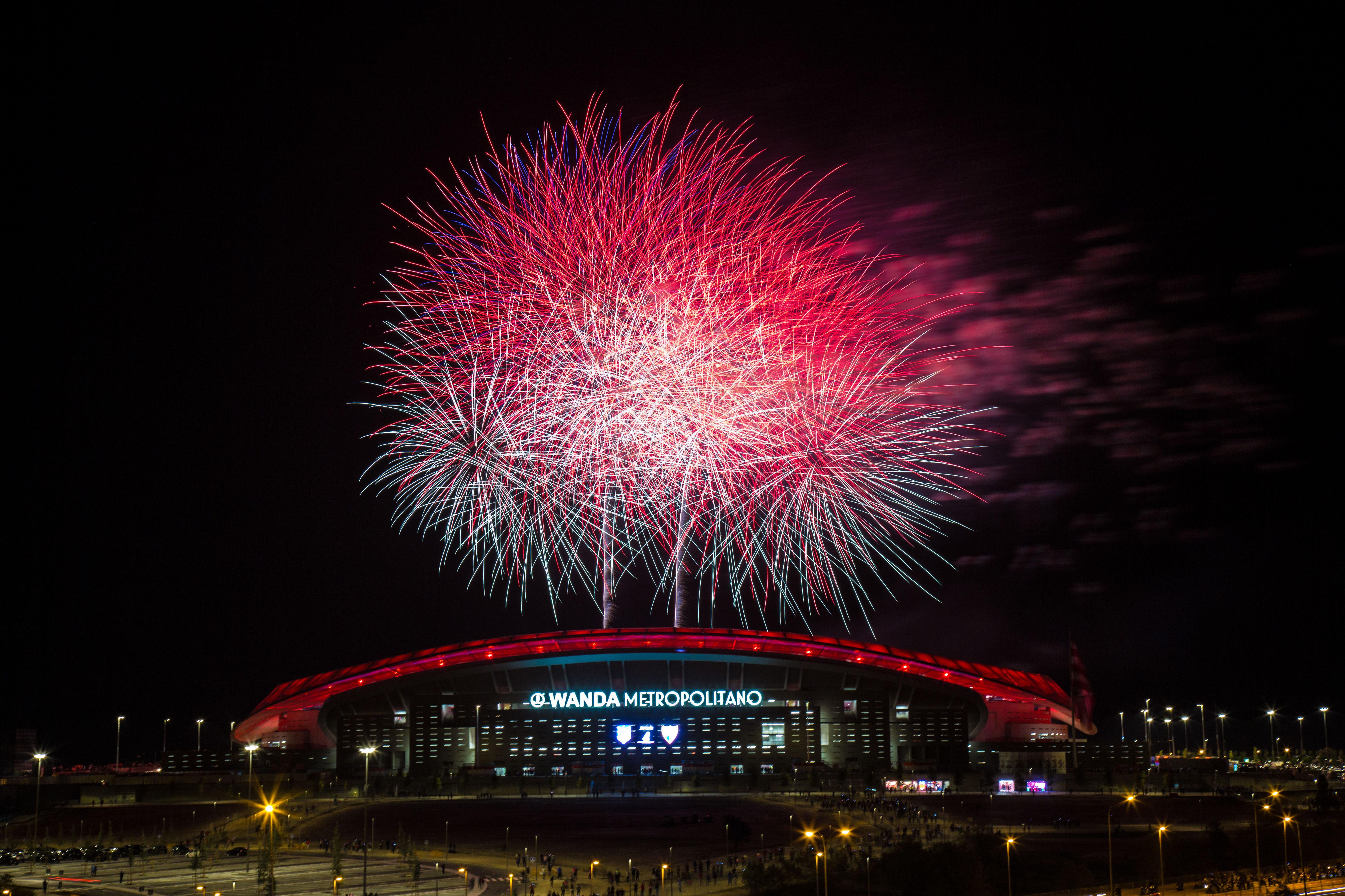 Inauguración Wanda Metropolitano
