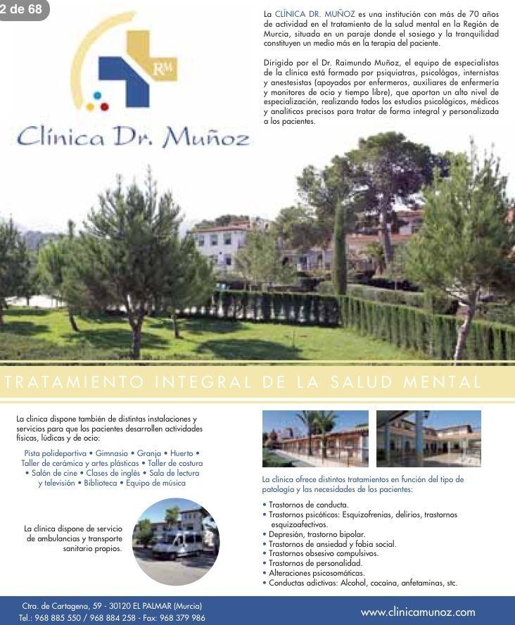 Foto 9 de Sanatorios psiquiátricos en Murcia | Sanatorio Doctor Muñoz