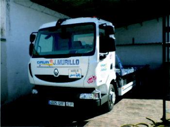 Foto 1 de Grúas para vehículos en Pedrola | Grúas J. Murillo