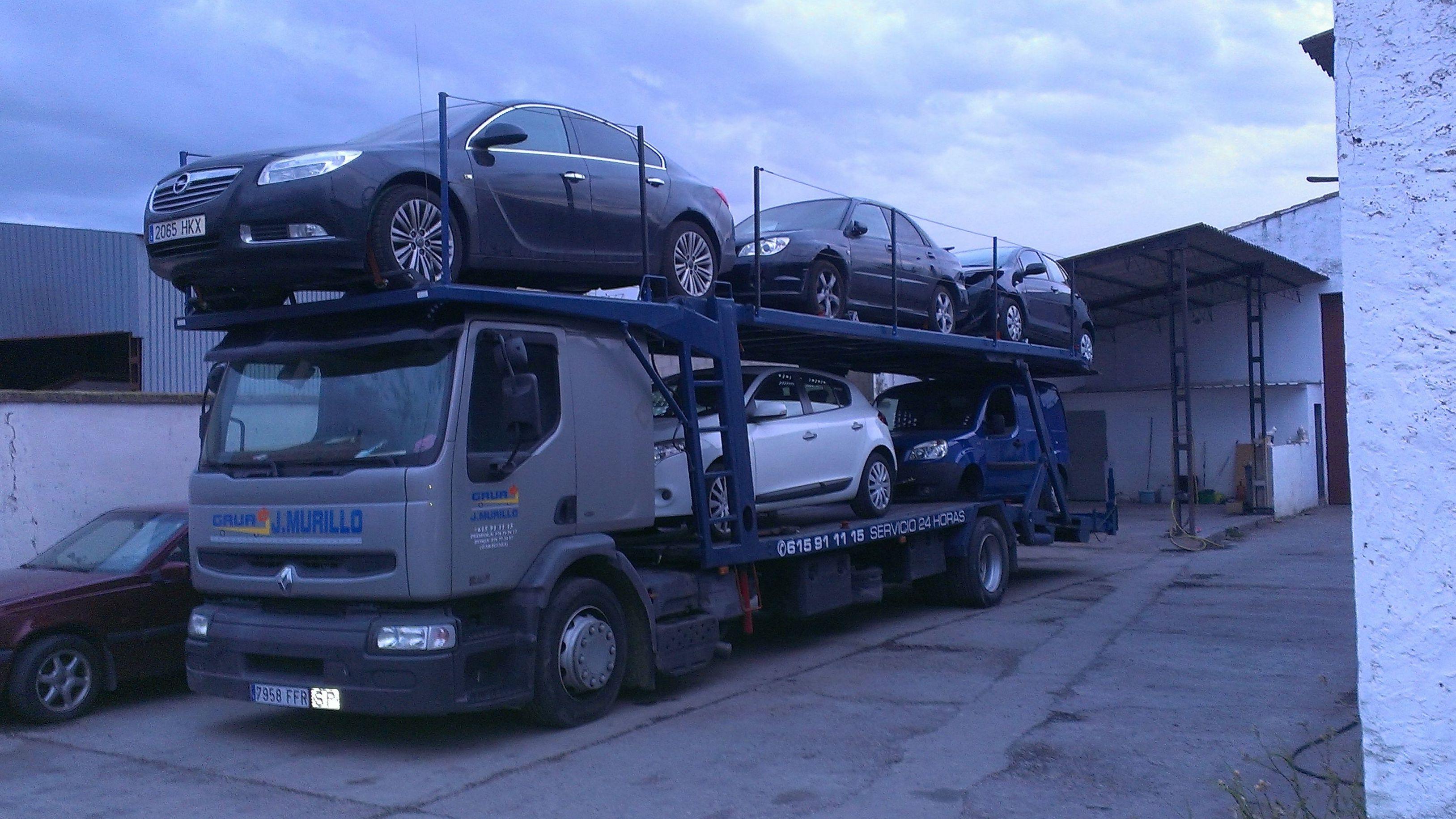 Foto 6 de Grúas para vehículos en Pedrola | Grúas J. Murillo