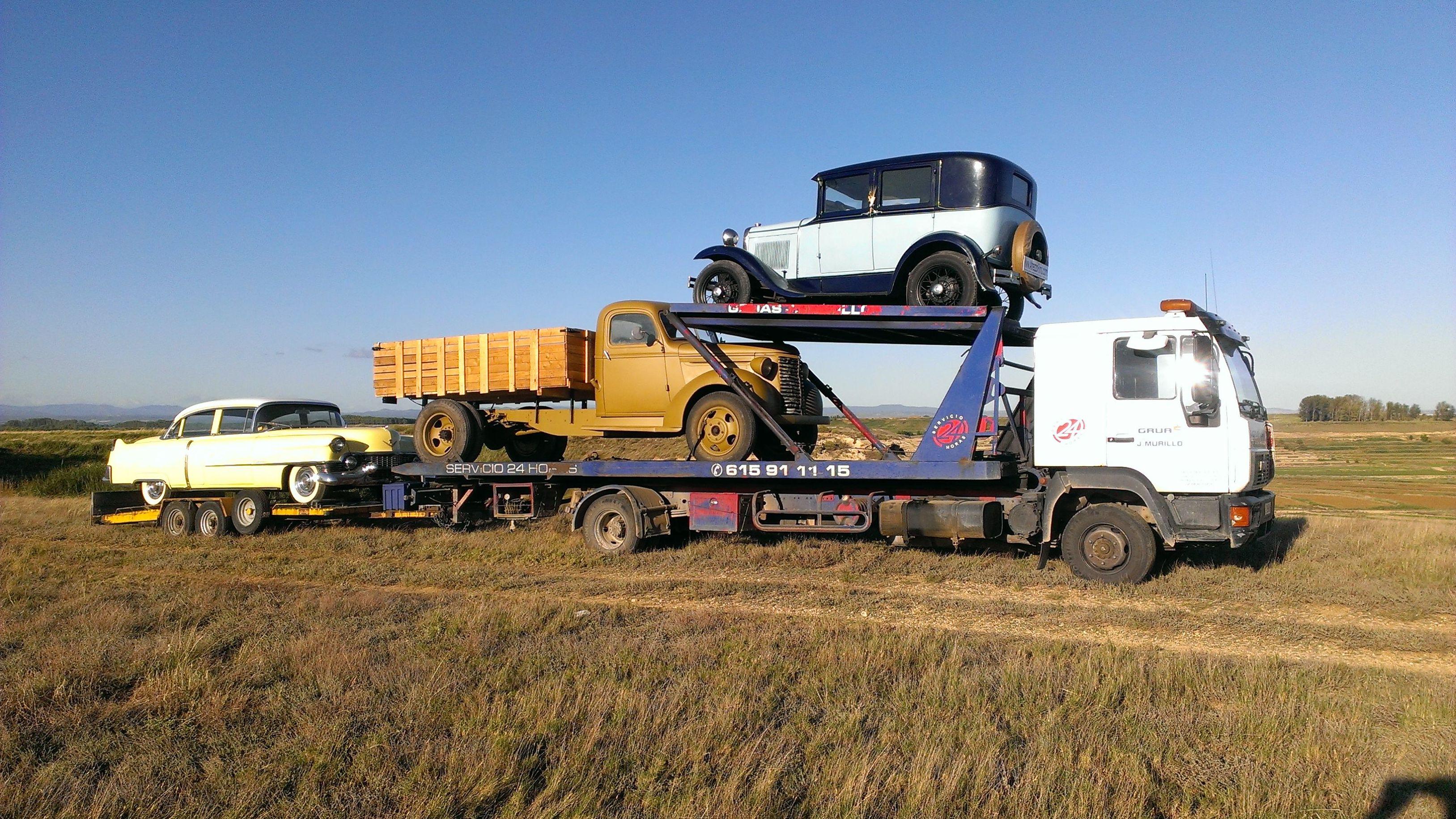 Foto 21 de Grúas para vehículos en Pedrola | Grúas J. Murillo