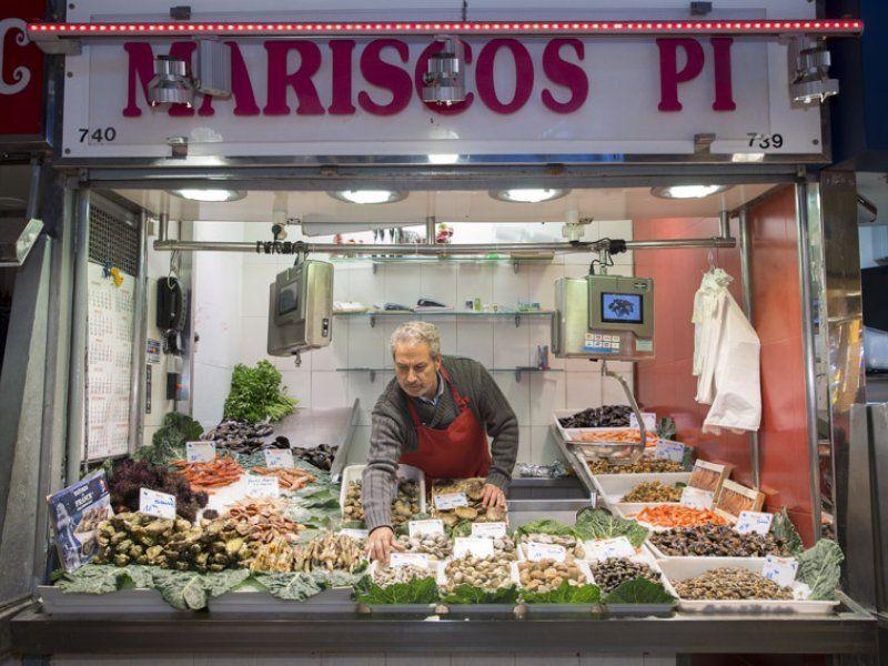 Marisco fresco de calidad en Barcelona