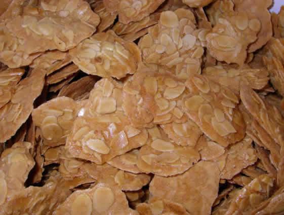 Tejas de almendra: Productos  de Tejas Artesanas de El Puerto