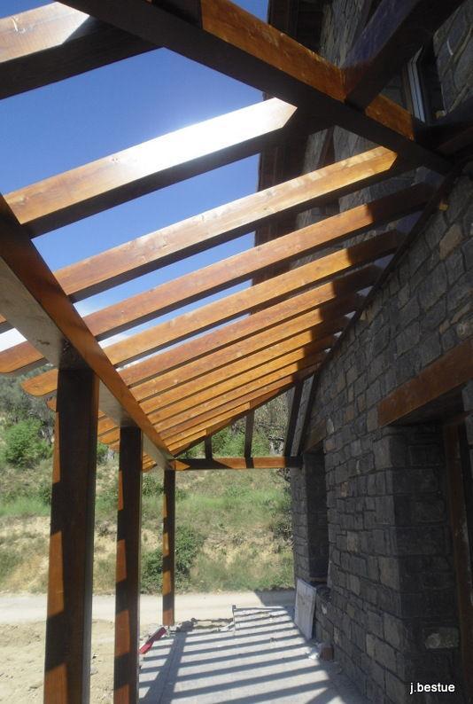 Fabricación de cubiertas en madera