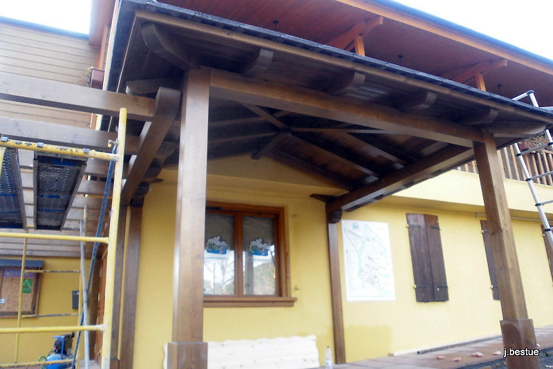 Fabricación de cubiertas y estructuras en madera