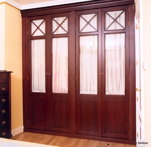Fabricación de todo tipo de armarios y muebles en madera