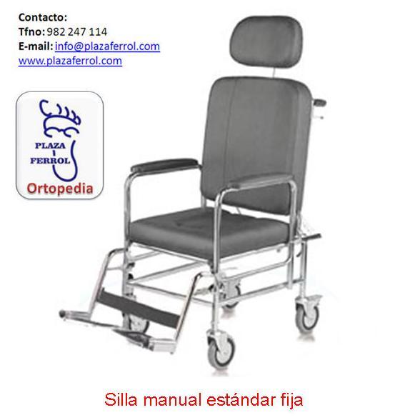 Silla manual estándar fija
