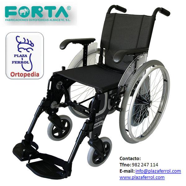Silla de ruedas basic duo de forta cat logo de edensalus - Catalogo de sillas de ruedas ...