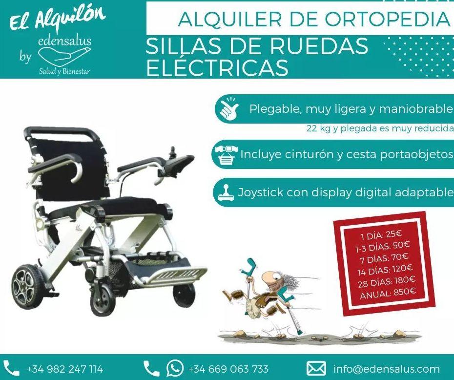 Alquiler silla eléctrica Mistral: Catálogo de Edensalus