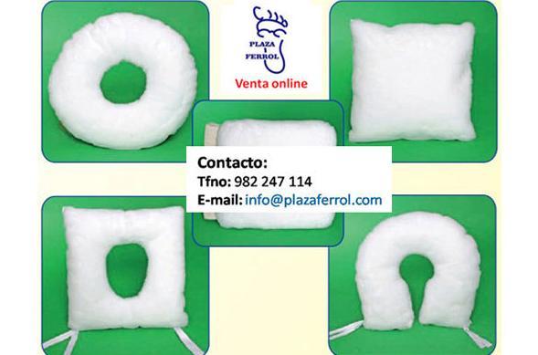 Cojines antiescaras de algodón
