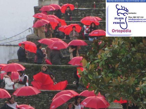 150 Aniversario Cruz Roja. Muralla Romana de Lugo. Diciembre de 2014.